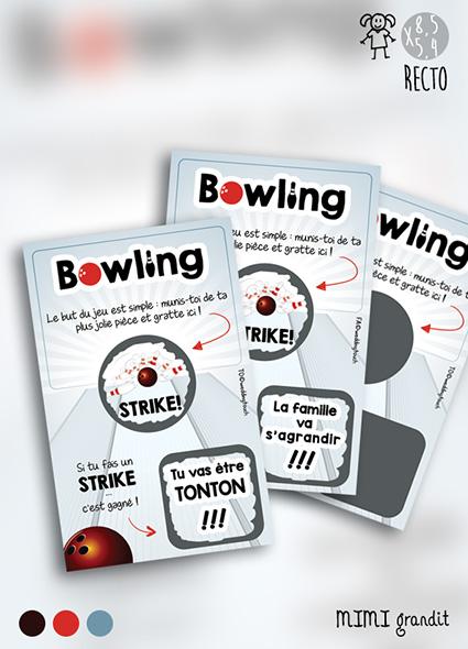 tickets à gratter bowling mg