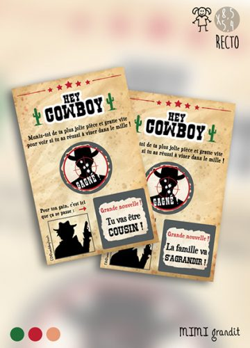 tickets à gratter hey cowboy mg