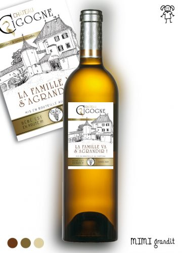 vin blanc annonce grossesse