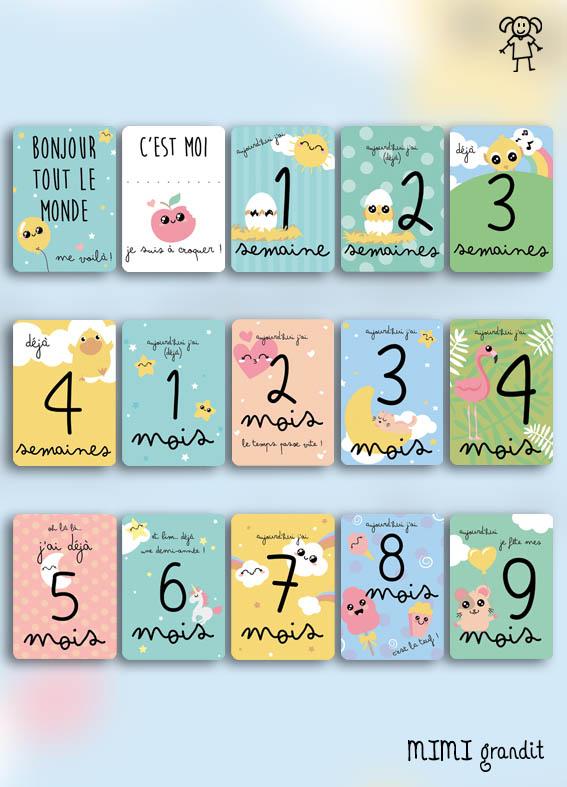 cartes étapes 2 ans mimi grandit - 2