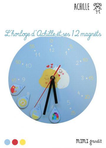 L'HORLOGE D'ACHILLE ET SES 12 MAGNETS