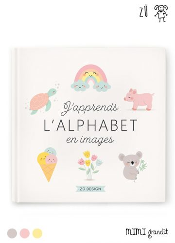 LIVRE J'APPRENDS L'ALPHABET EN IMAGES ZÜ