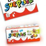 bébé surprise annonce grossesse kinder