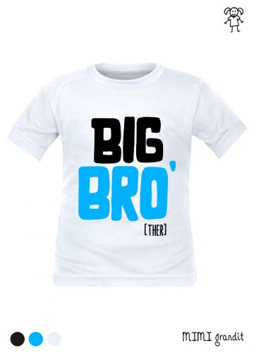 tee shirt grand frère big bro