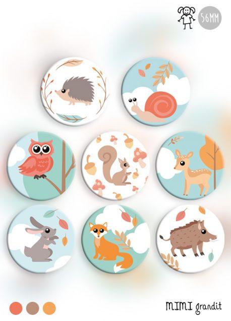 animaux-de-la-foret-kit-magnets