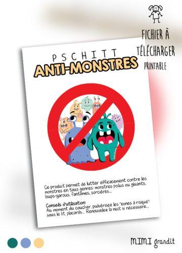 PRINTABLE-ANTI-MONSTRES