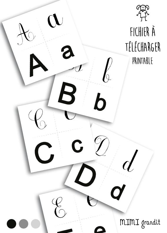 Magnets Lettres Alphabet Fichiers A Telecharger Et Faire Imprimer