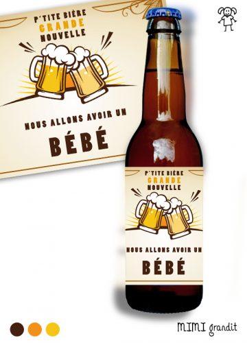 étiquette-bouteille-biere-annonce-grossesse