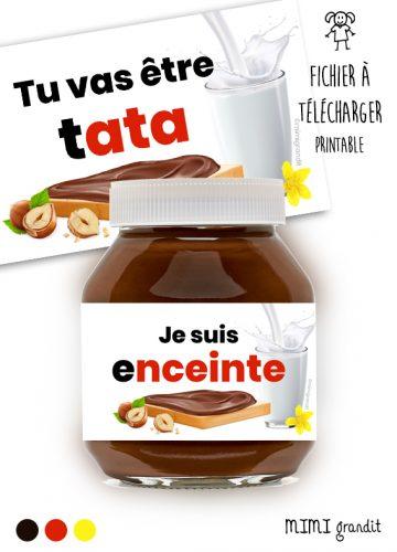 étiquette-a-télécharger-annonce-grossesse-pot-a-tartiner-nutella