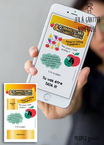 annonce-de-grossesse-digitale-carte-a-gratter-numerique-pomme-poire
