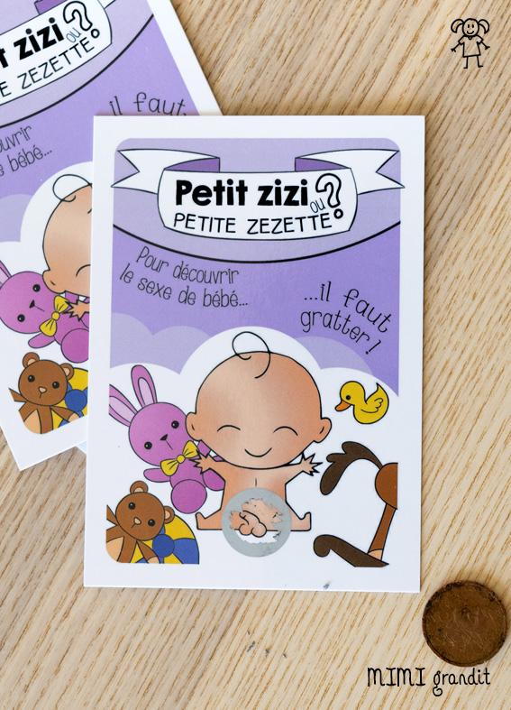 carte-jeu-à-gratter-annonce-sexe-bébé-fille-ou-garcon-zizi-zezette