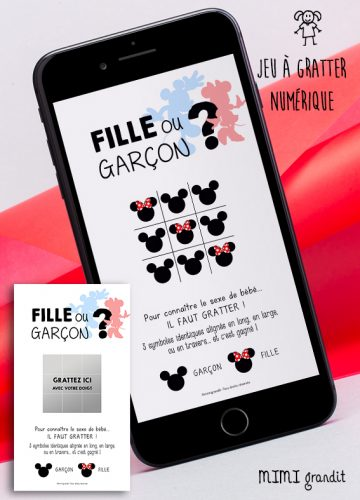 carte-annonce-fille-garcon-mickey