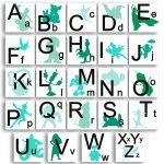 magnets-abécédaire-disney-à-télécharger-bleu-vert-à-imprimer 3
