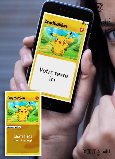 invitation-enfant-anniversaire-virtuelle-pokemon-pikachu