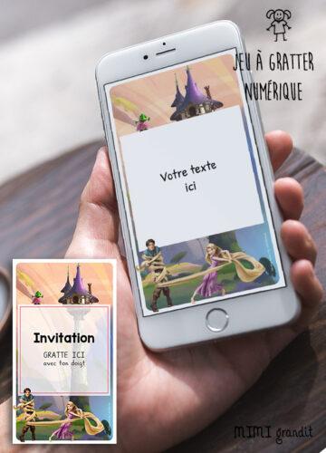 carte-invitation-virtuelle-anniversaire-enfant-disney-raiponce