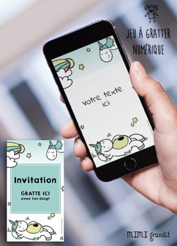invitation-anniversaire-baby-shower-virtuelle-licorne