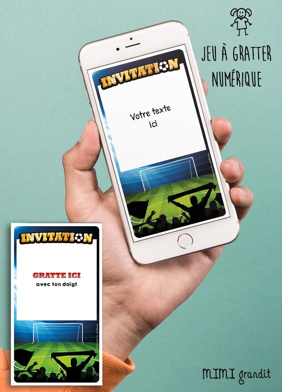 invitation-anniversaire-virtuelle-carte-football-foot