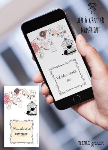 save-the-date-virtuel-mariage-bapteme-anniversaire-boheme