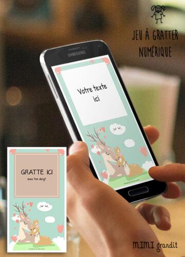carte-a-gratter-sur-téléphone-personnalisable-biches