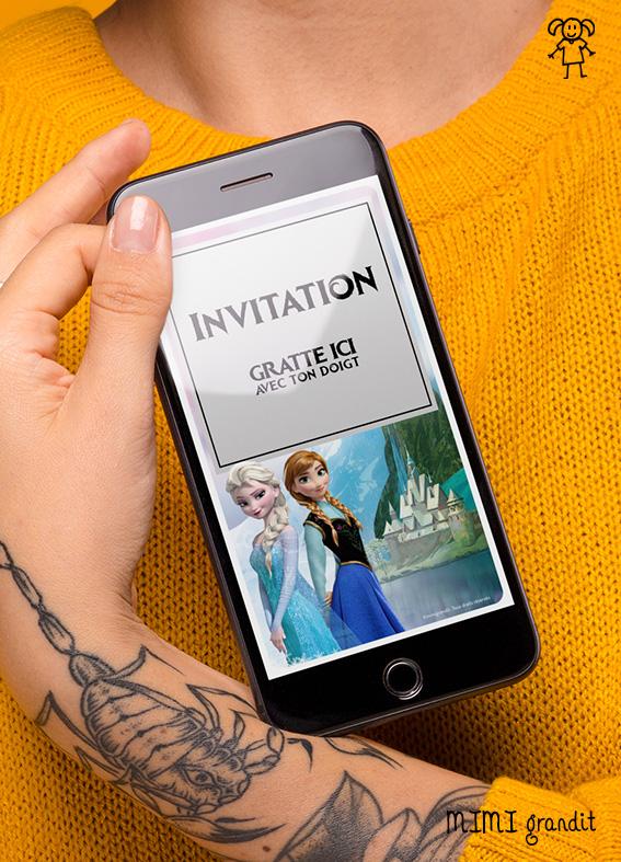 invitation-anniversaire-numerique-virtuelle-fille-reine-des-neiges-arendelle2