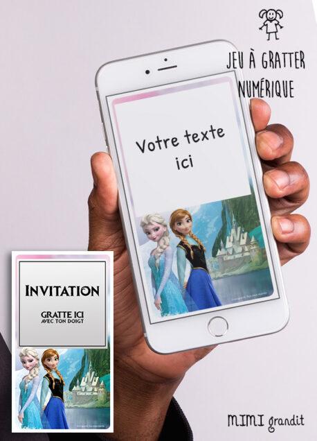 invitation-anniversaire-numerique-virtuelle-fille-reine-des-neiges-arendelle