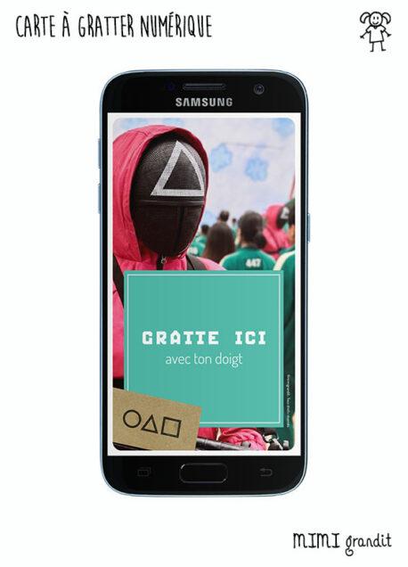 carte-a-gratter-virtuelle-numerique-invitation-halloween-anniversaire-squid-game-sms