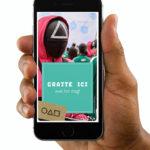 carte-a-gratter-virtuelle-numerique-invitation-halloween-anniversaire-squid-game-netflix