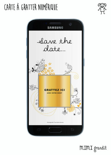 save-the-date-carte-a-gratter-virtuelle-mariage-arabesque-jaune