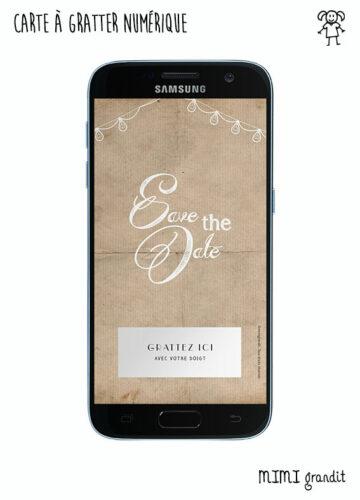 save-the-date-virtuel-rétro-mariage-bapteme-telephone