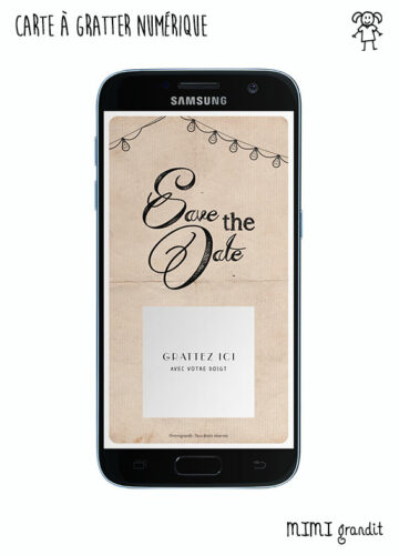 save-the-date-virtuel-rétro-mariage-bapteme-telephone-sms-mail